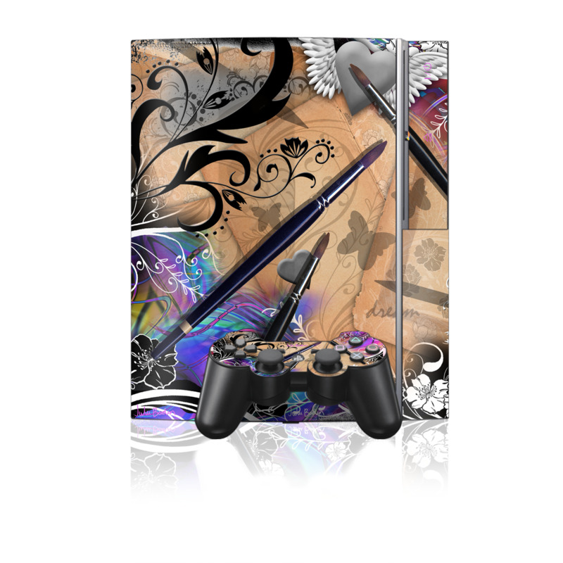 Dream Flowers PS3 Skin