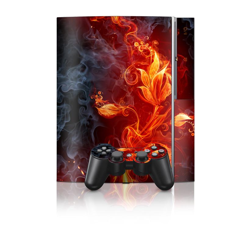 Flower Of Fire PS3 Skin