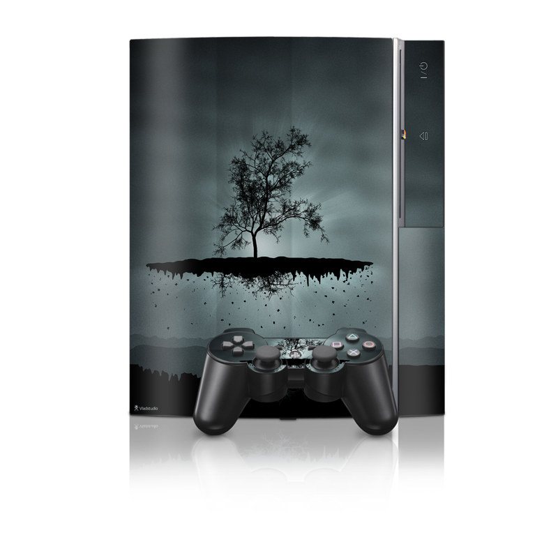 Flying Tree Black PS3 Skin