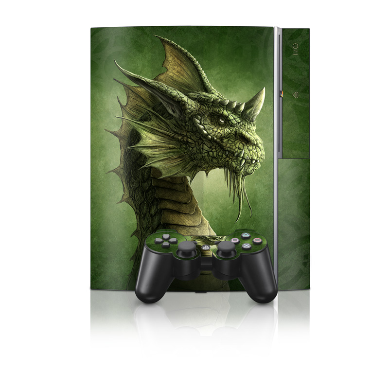 Green Dragon PS3 Skin