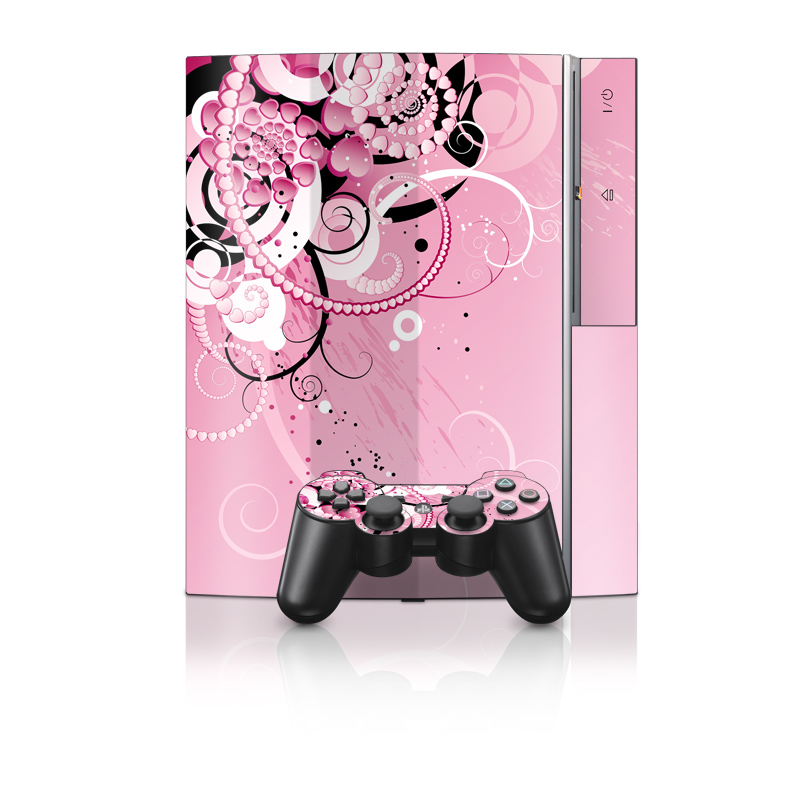 Her Abstraction PS3 Skin