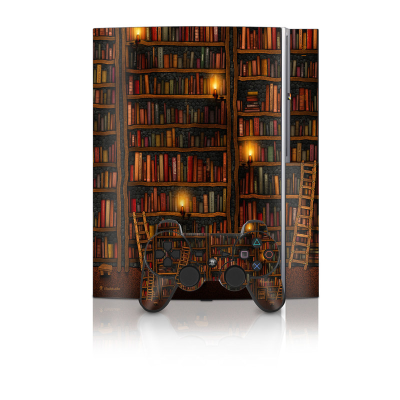 Library PS3 Skin