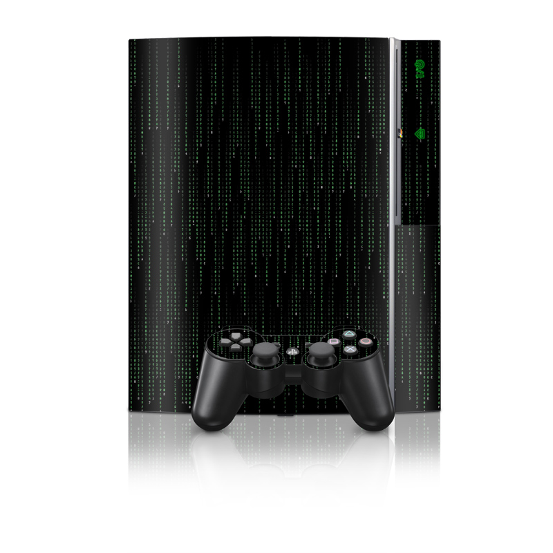 Matrix Style Code PS3 Skin