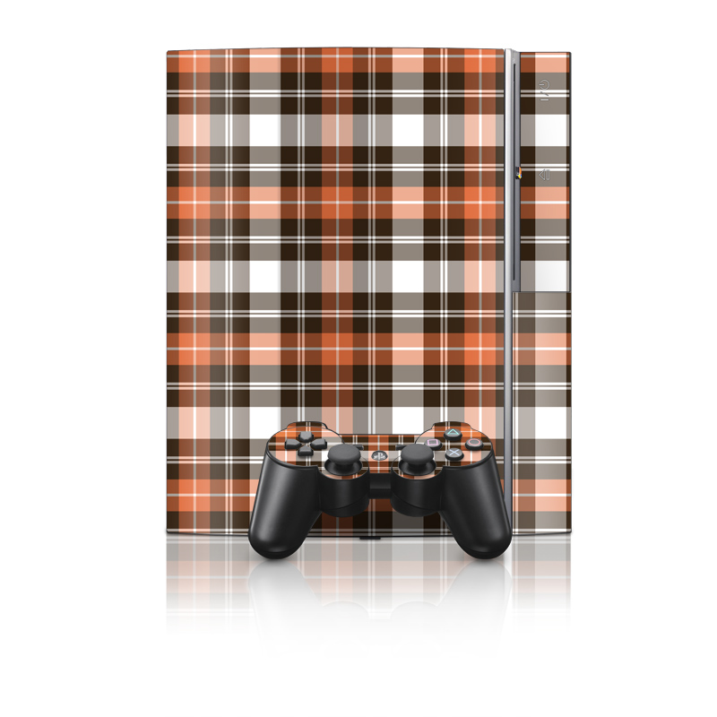 Copper Plaid PS3 Skin
