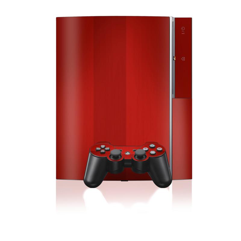 Red Burst PS3 Skin