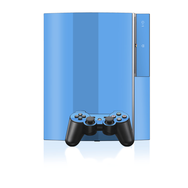 Solid State Blue PS3 Skin