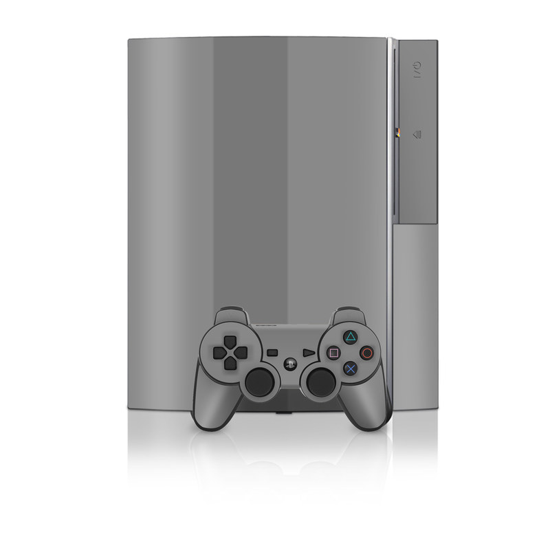 Solid State Grey PS3 Skin