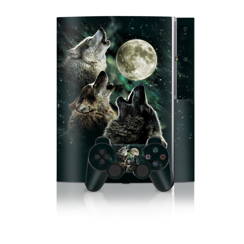 Three Wolf Moon PS3 Skin
