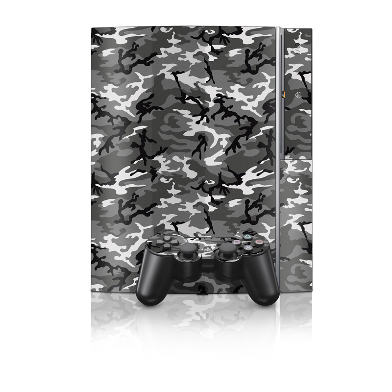 Urban Camo PS3 Skin