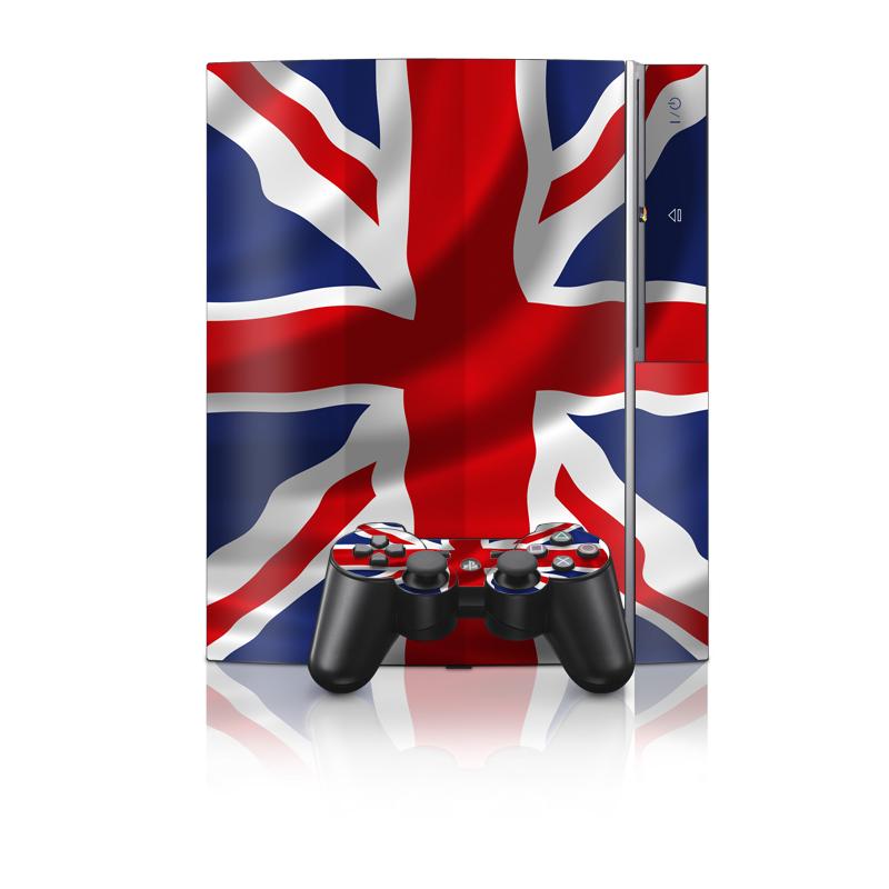 Union Jack PS3 Skin