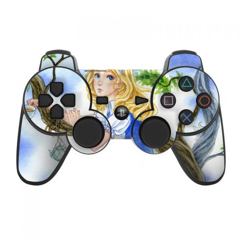 Alice's Tea Time PS3 Controller Skin