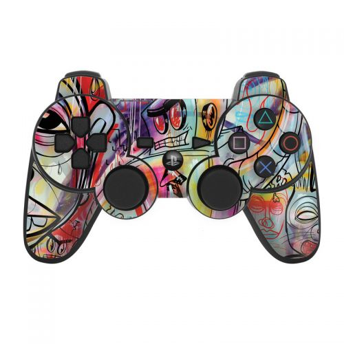 Battery Acid Meltdown PS3 Controller Skin