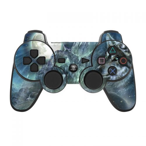 Bark At The Moon PS3 Controller Skin