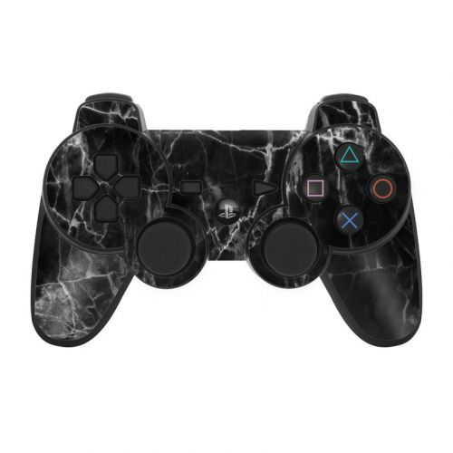 Black Marble PS3 Controller Skin
