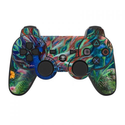 Coral Peacock PS3 Controller Skin