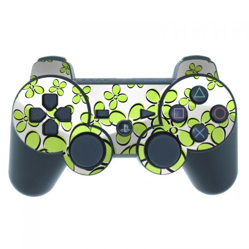 Daisy Field - Green PS3 Controller Skin