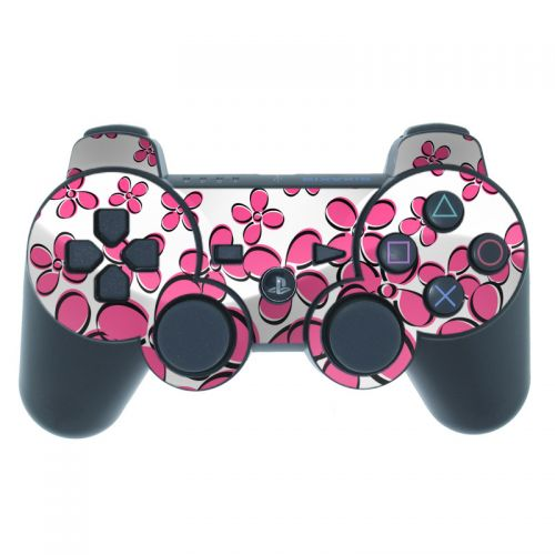 Daisy Field - Pink PS3 Controller Skin