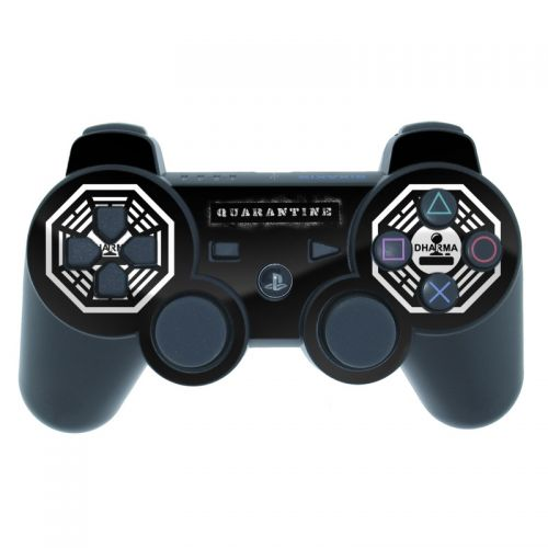 Dharma Black PS3 Controller Skin