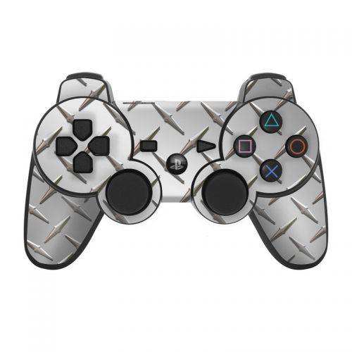 Diamond Plate PS3 Controller Skin