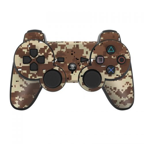 Digital Desert Camo PS3 Controller Skin