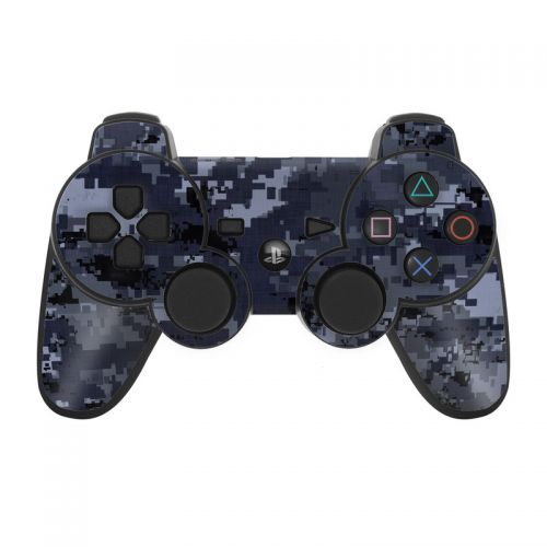 Digital Navy Camo PS3 Controller Skin