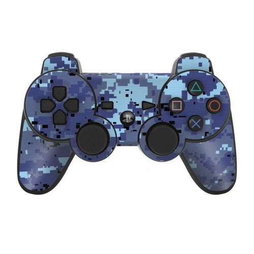Digital Sky Camo PS3 Controller Skin