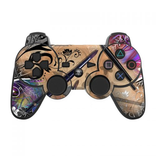 Dream Flowers PS3 Controller Skin