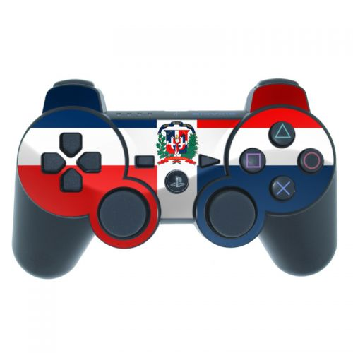 Dominican Republic Flag PS3 Controller Skin