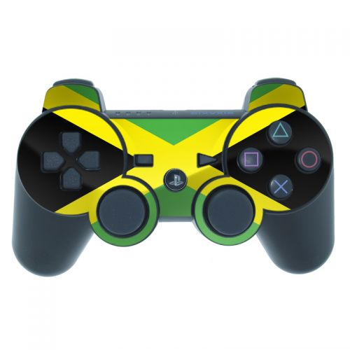 Jamaican Flag PS3 Controller Skin