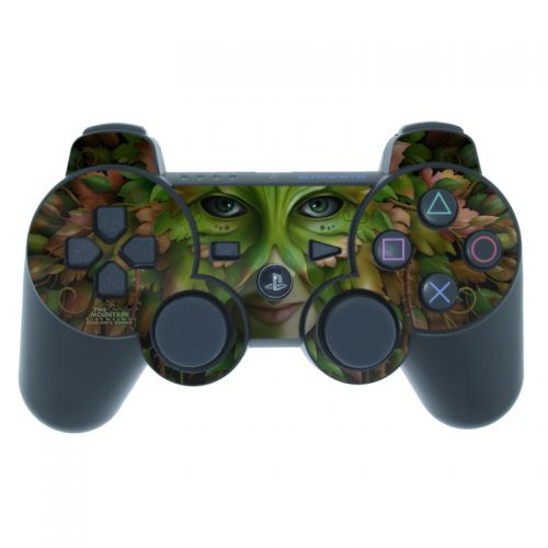 Green Woman PS3 Controller Skin