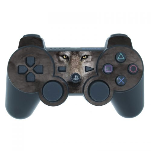 Grey Wolf PS3 Controller Skin