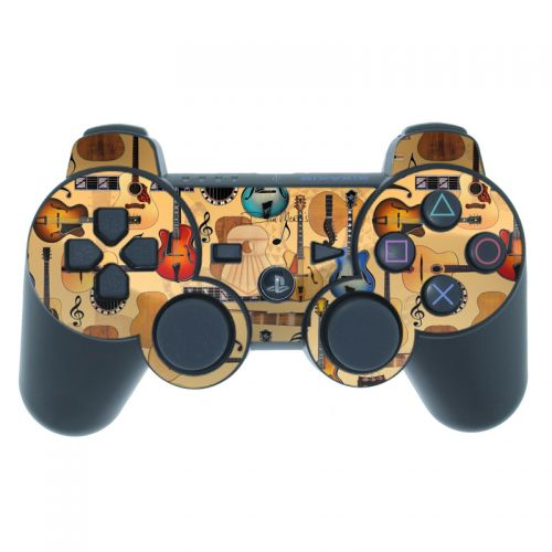 Guitar Collage PS3 Controller Skin