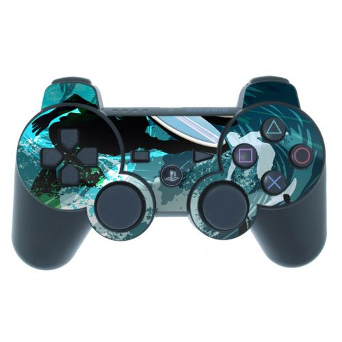 Hit The Waves PS3 Controller Skin