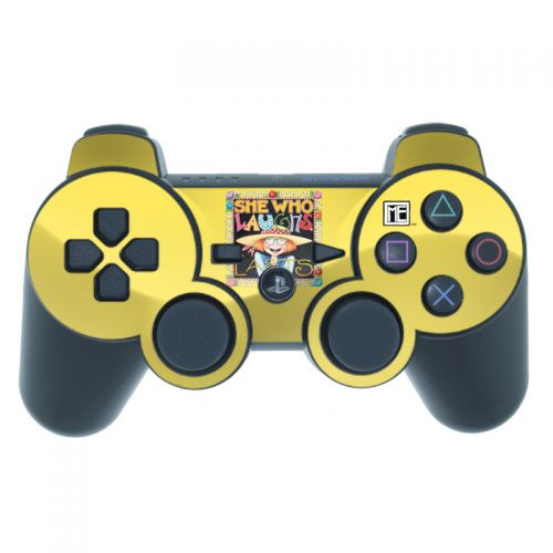 She Who Laughs PS3 Controller Skin