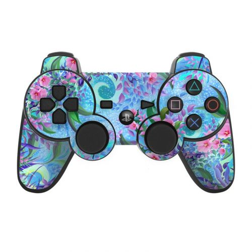 Lavender Flowers PS3 Controller Skin