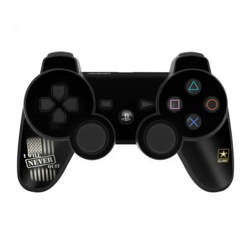 Never Quit PS3 Controller Skin