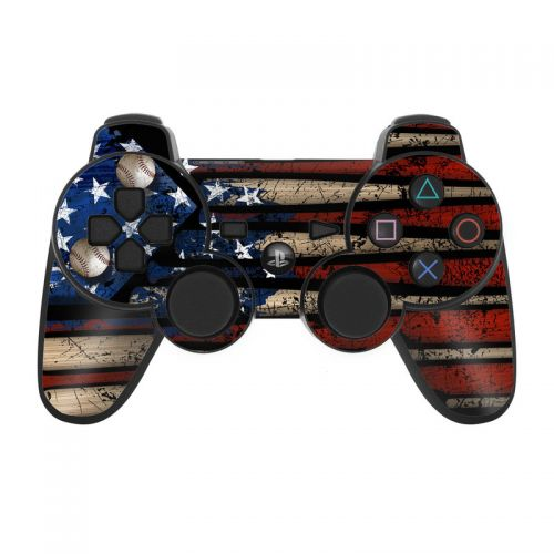 Old Glory PS3 Controller Skin
