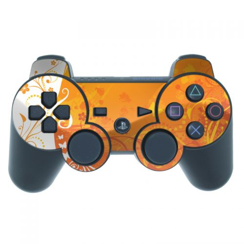Orange Crush PS3 Controller Skin
