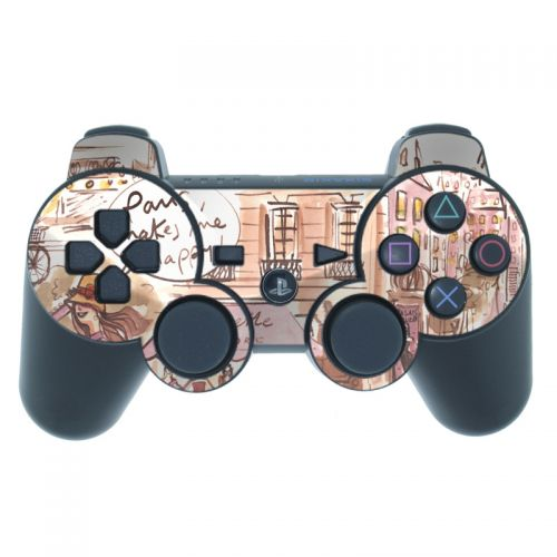 Paris Makes Me Happy PS3 Controller Skin