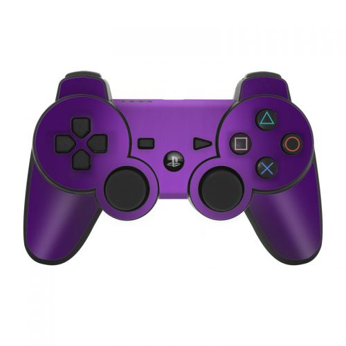Purple Burst PS3 Controller Skin