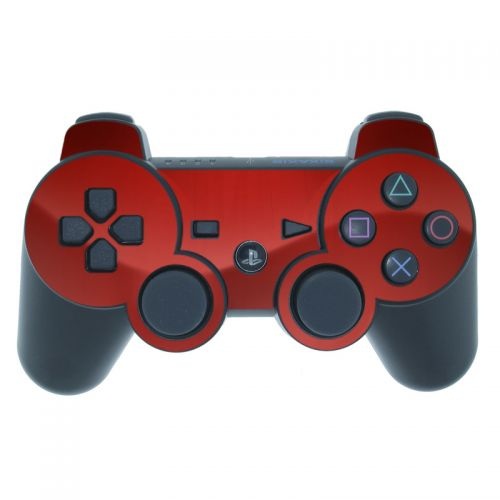 Red Burst PS3 Controller Skin