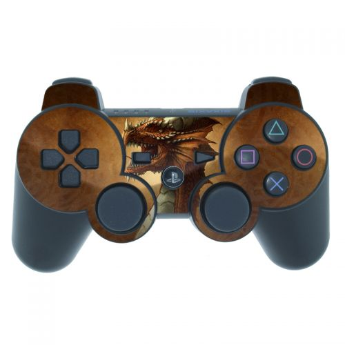 Red Dragon PS3 Controller Skin