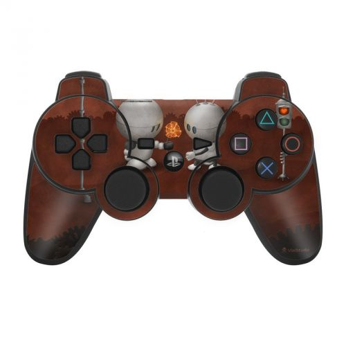 Robots In Love PS3 Controller Skin