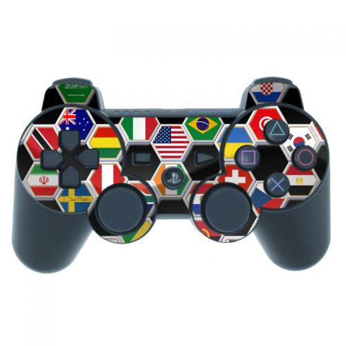 Soccer Flags PS3 Controller Skin