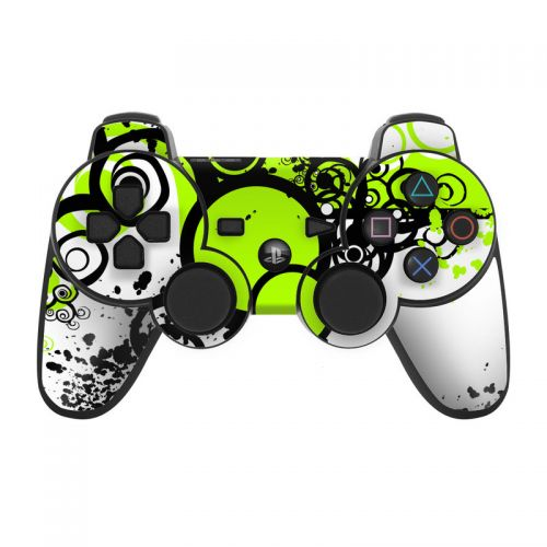 Simply Green PS3 Controller Skin