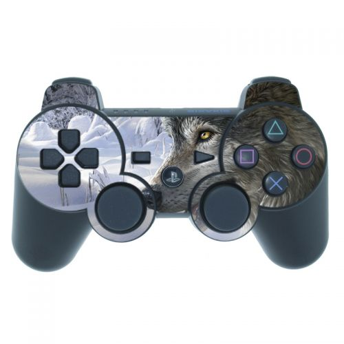 Snow Wolves PS3 Controller Skin