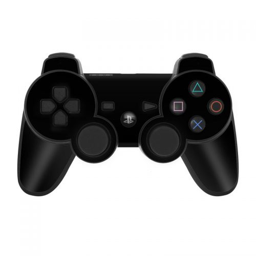 Solid State Black PS3 Controller Skin