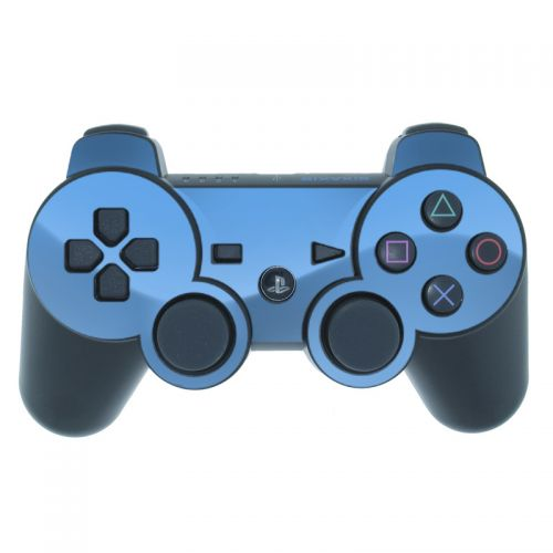 Solid State Blue PS3 Controller Skin
