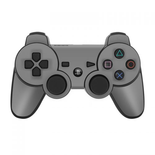 Solid State Grey PS3 Controller Skin