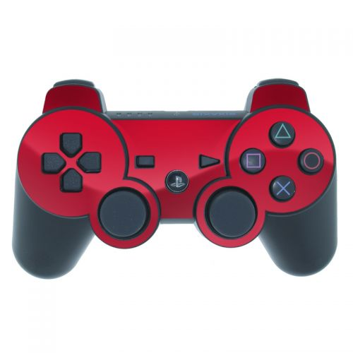 Solid State Red PS3 Controller Skin